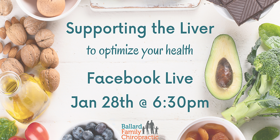 Supporting the Liver To Optimize Your Health!