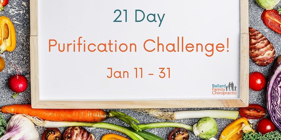 21 Day Purification Challenge!