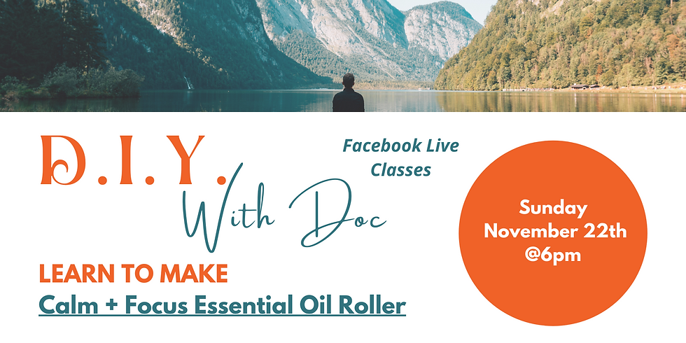 DIY With Doc - Focus and Calming Rollers
