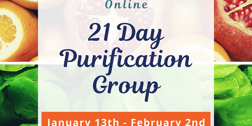 21 Day Purification Group - Online