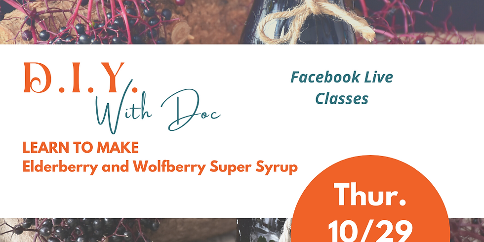 DIY with Doc Elderberry Syrup