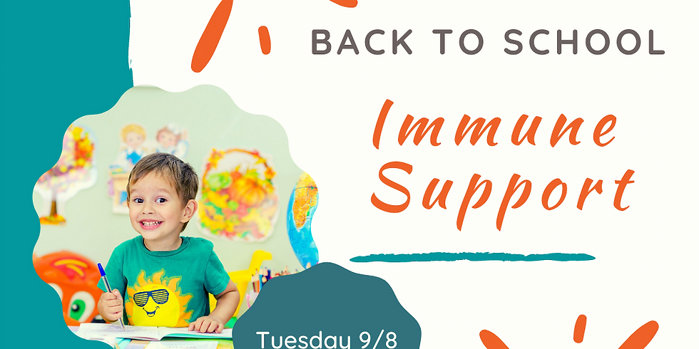 Back to School Immune Support