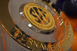 SEC Tournament Champs Trophy