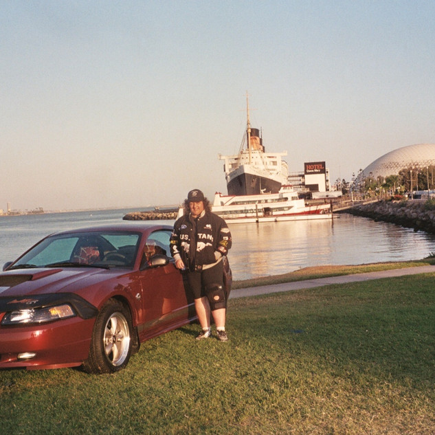 Brenda Mustang 2004 at Queen  Mary.JPG