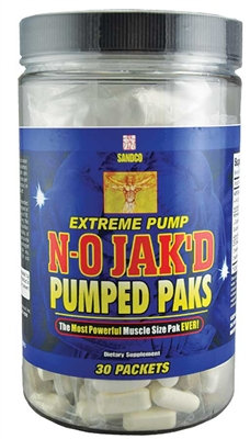 N-O Jak'D- Pumped Paks