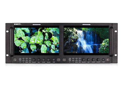 M-1093H Dual 9-inch FHD Rack LCD Monitor
