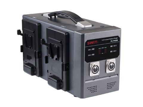 PC-P430S 4-ch V-mount Battery Quick Charger