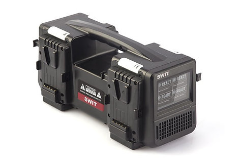 PC-P460S 4x6A Super Fast V-mount Charger