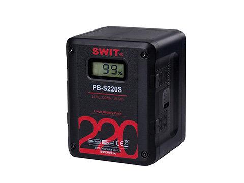 PB-S220S 220Wh Multi-sockets Heavy Duty Digital Battery
