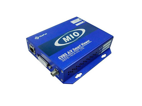 MIO AV-AViewer CVBS to DVI/HDMI converter with video & audio monitoring