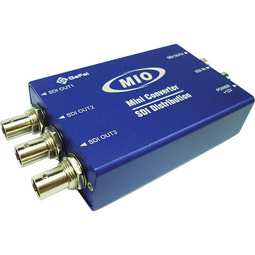 MMIO VSD-HD Mini 1 to 4 HD/SD-SDI Video Reclocking Distribution Amplifier