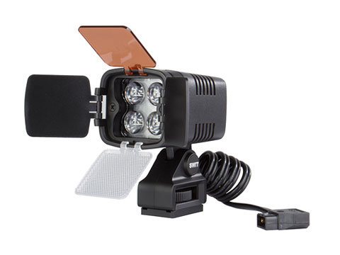 S-2000 4-LED On-camera Light