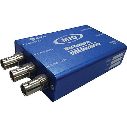 MMIO VDA 1 x 4 Analog Video Distribution Mini Box