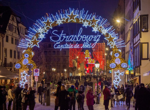 1) Sparkle in Strasbourg
