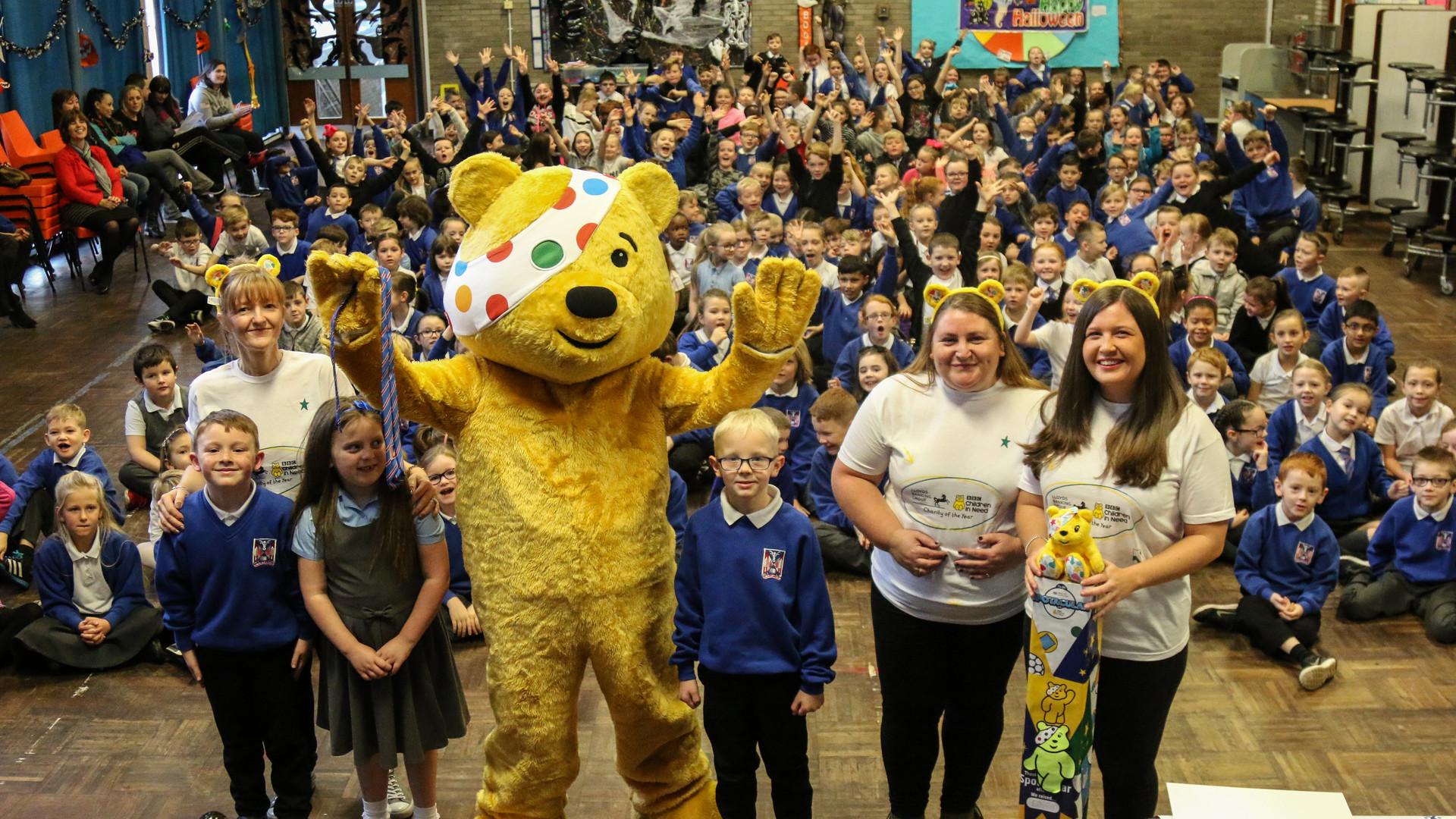 Children in Need Launch at Blairdardie (