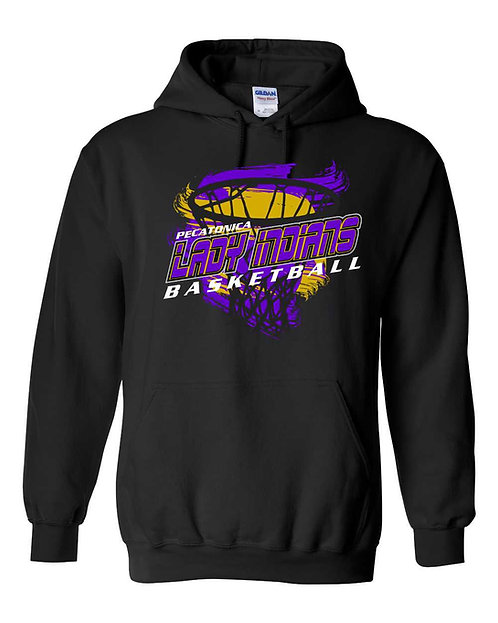 Pec JH Girls Basketball Premium Hooded sweatshirt 82760