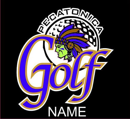 Pec Golf Sticker