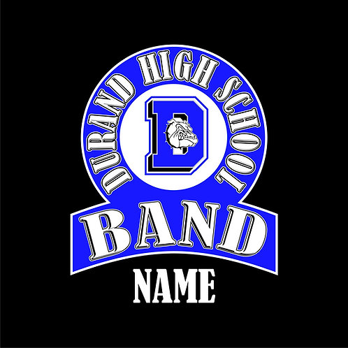 Durand Band Window Sticker