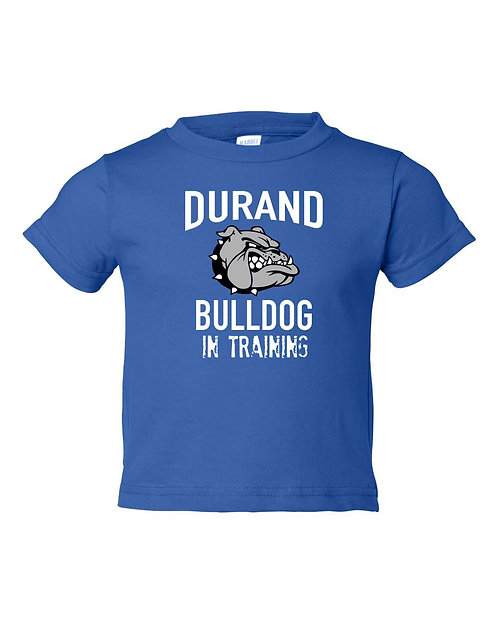Durand Bulldog in Training Toddler Tee 35638