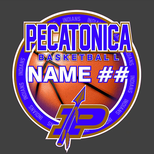 Pec Basketball Sticker