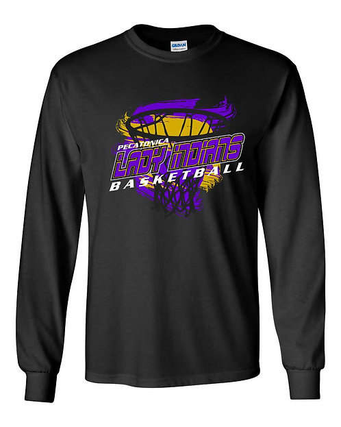 Pec JH Girl's Basketball Long Sleeve Tee 6060