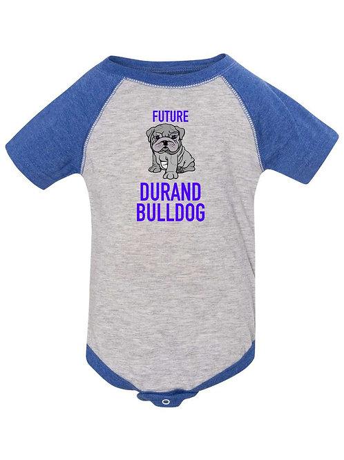 Future Durand Bulldog Onesie 30538