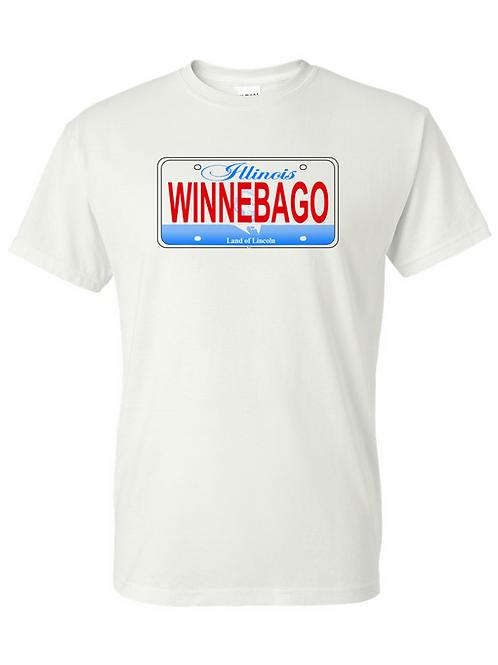 Illinois License Plate WINNEBAGO