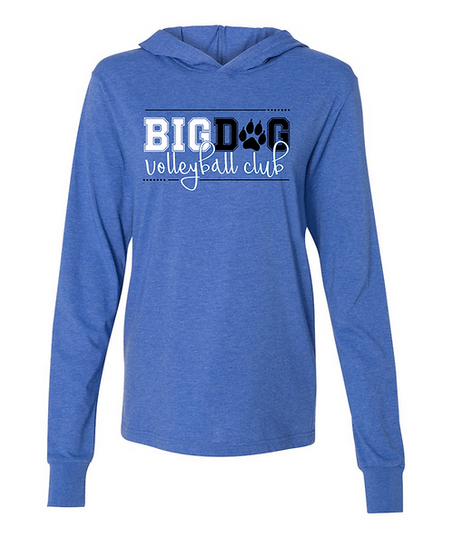 Big Dog VB Club Hooded Long Sleeve Tee 82006