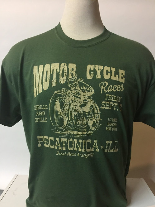 Vintage Motor Cycle Race t-shirt