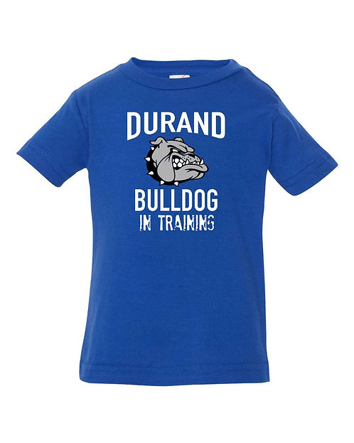 Durand Bulldog in Training Infant Tee 32138