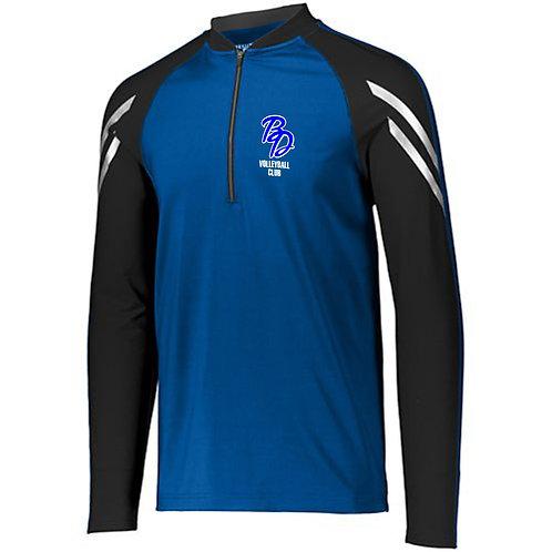 Big Dog VB Club pullover warmup w/embroidered logo 222522