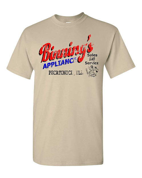 Vintage Pecatonica Binning's Appliance T-shirt