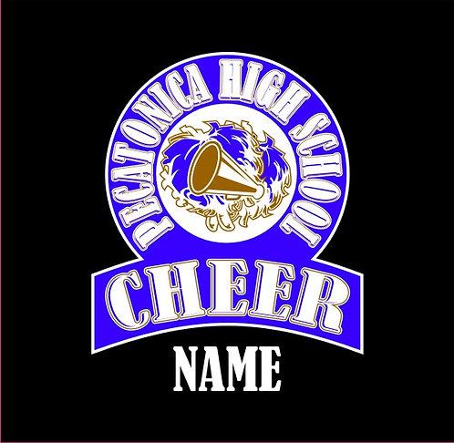 Pecatonica Cheer Window Sticker