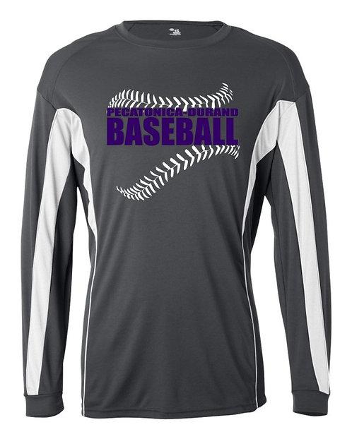 PD Baseball performance long sleeve T-shirt