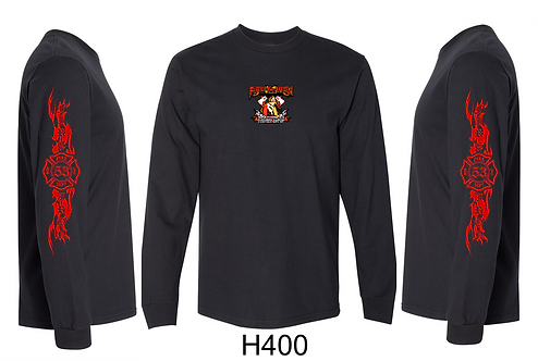 Fire and Iron LS T-shirt