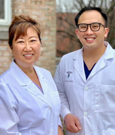 Janet K Song, DDS and Dr. Vu Tran DMD.jp