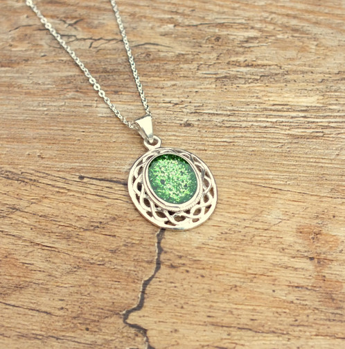 Sterling silver celtic oval memorial cremation ash pendant ashes 12 teaspoon of course any ashes not used are returned with your completed order ashes should be sent via royal mail recorded post in a zip lock style mozeypictures Image collections