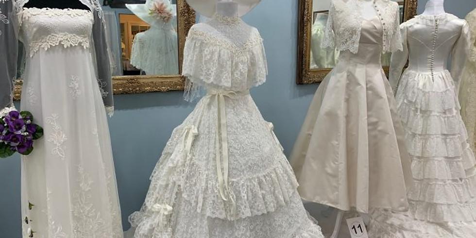 Vintage Bridal Gown Collection exhibit