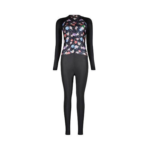 Bodysuit for Women รุ่น AERO COOL HFLOWERS190