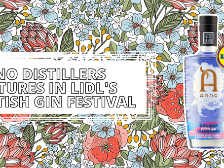 Anno Distillers features in Lidl's British Gin Festival