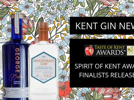 Taste of Kent Awards names gin finalists
