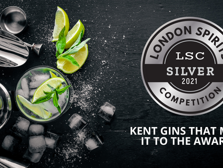 Six Kent gins awarded silver in London Spirits Competition