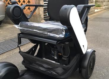 電動車椅子WHILLのデモンストレーション