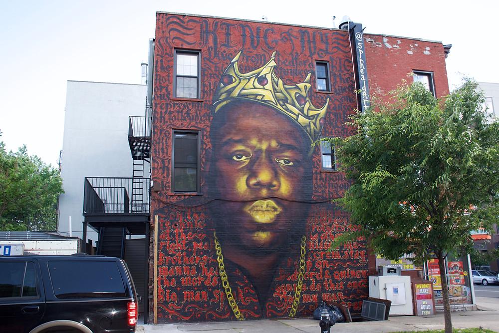 The King of New York - Mural by SpreadArtNYC