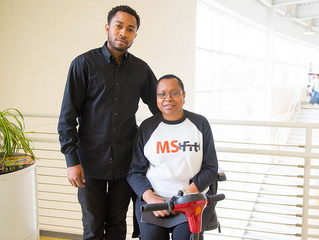 Mom joining MS Fitness Program Started by Son