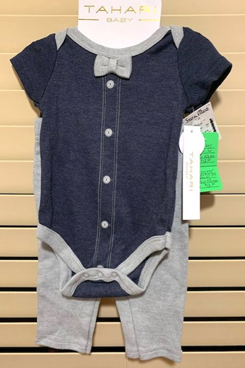 BABY BOY SIZE 0 - 3 MONTHS 3 PIECE OUTFIT BY TAHARI