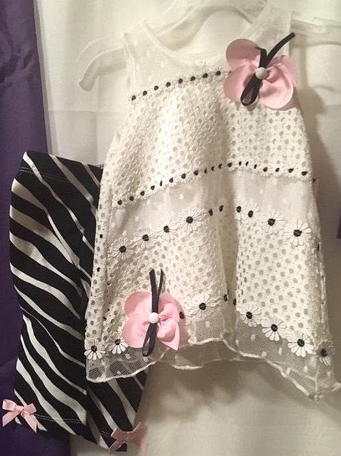 Baby Girls Size 18 Month Rare Editions Capri Set