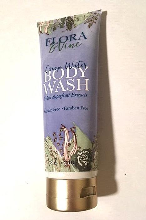 Flora & Vine Crisp Water Body Wash
