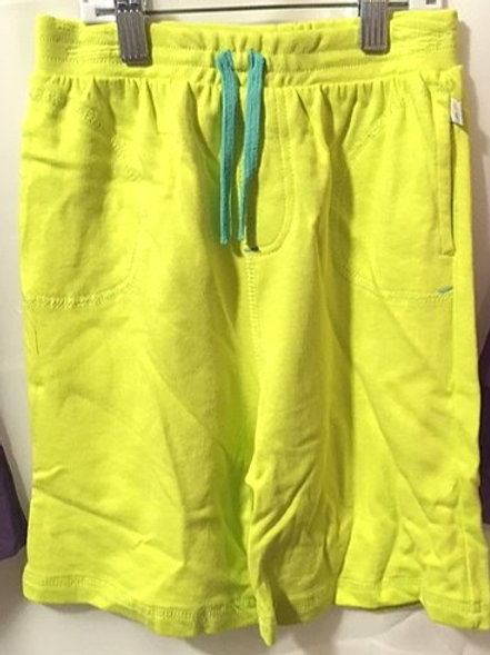 Girls Size 7 Lime Jersey Shorts