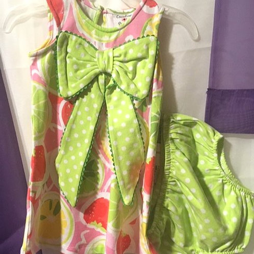 Baby Girls Size 18 Month Dress Set by Counting Daisies